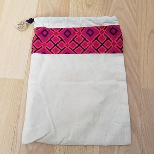 TORY BURCH cotton pouch